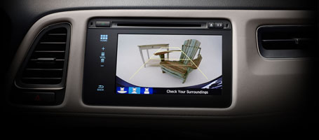 Multi-Angle Rearview Camera.